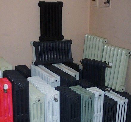 Fotos de compra - venta - reparación - radiadores de hierro fundido Buenos Aires