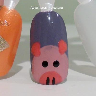 Piggy Nails Tutorial!
