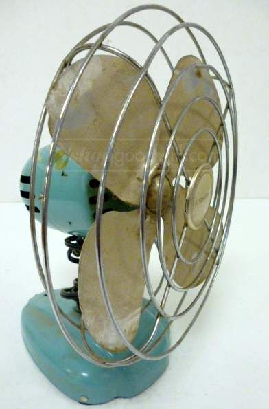 shopgoodwill.com: Vintage McGraw-Edison Eskimo Metal Fan