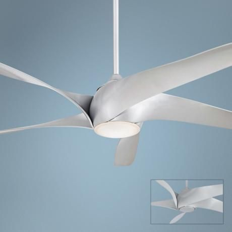 """62"""" Artemis XL5 Silver Ceiling Fan -"""