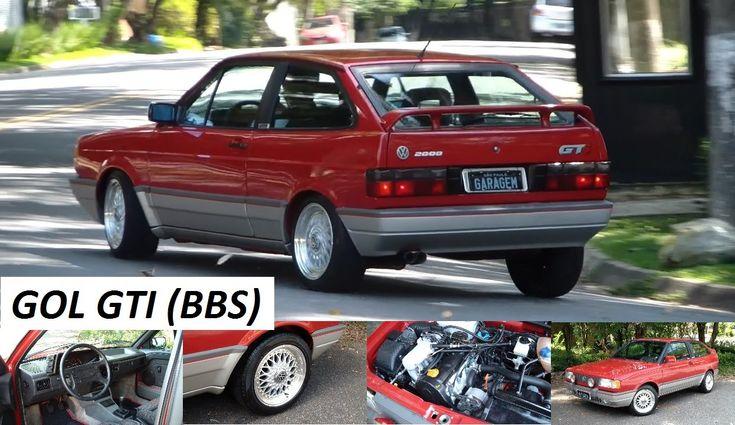 Garagem do Bellote TV: Gol GTI (rodas BBS 15 polegadas)