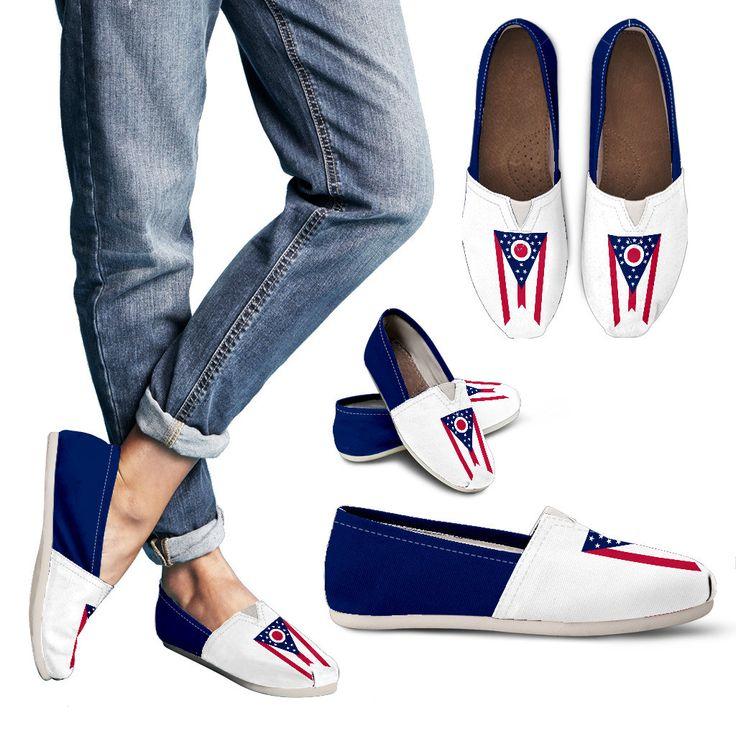 Ohio Flag - Women's Casual Shoes