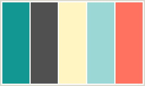 ColorCombo285 - ColorCombos.com color palettes AQUA, BITTERSWEET, BLUE CHILL, EGG WHITE, EMPEROR, GRAY, GREY, LIGHT BLUE, RED, SINBAD, YELLOW.