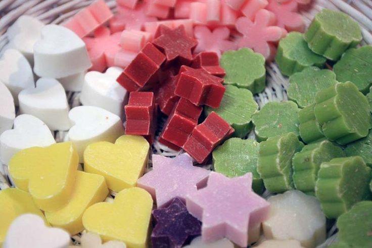 Moederdag: zeepjes maken in mooie vormen