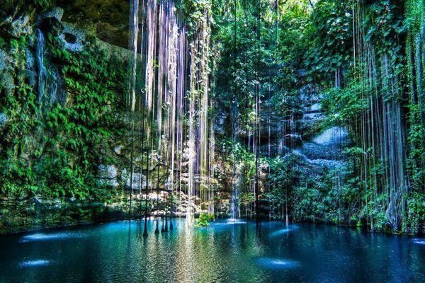 セノーテ・イキル/メキシコや世界各地の旅行・観光の絶景画像|旅行・観光のおすすめまとめ「wondertrip」