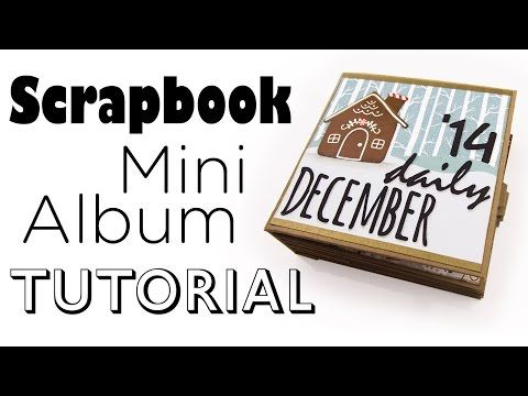 ▶ [Scrapbook Mini-Album Tutorial] December Daily Art Journal | Für Video-Aktion von Danipeuss.de - YouTube