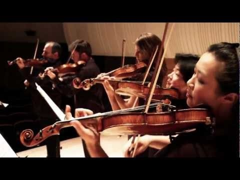 Australian Chamber Orchestra performs Tchaikovsky Serenade for Strings (short clip)
