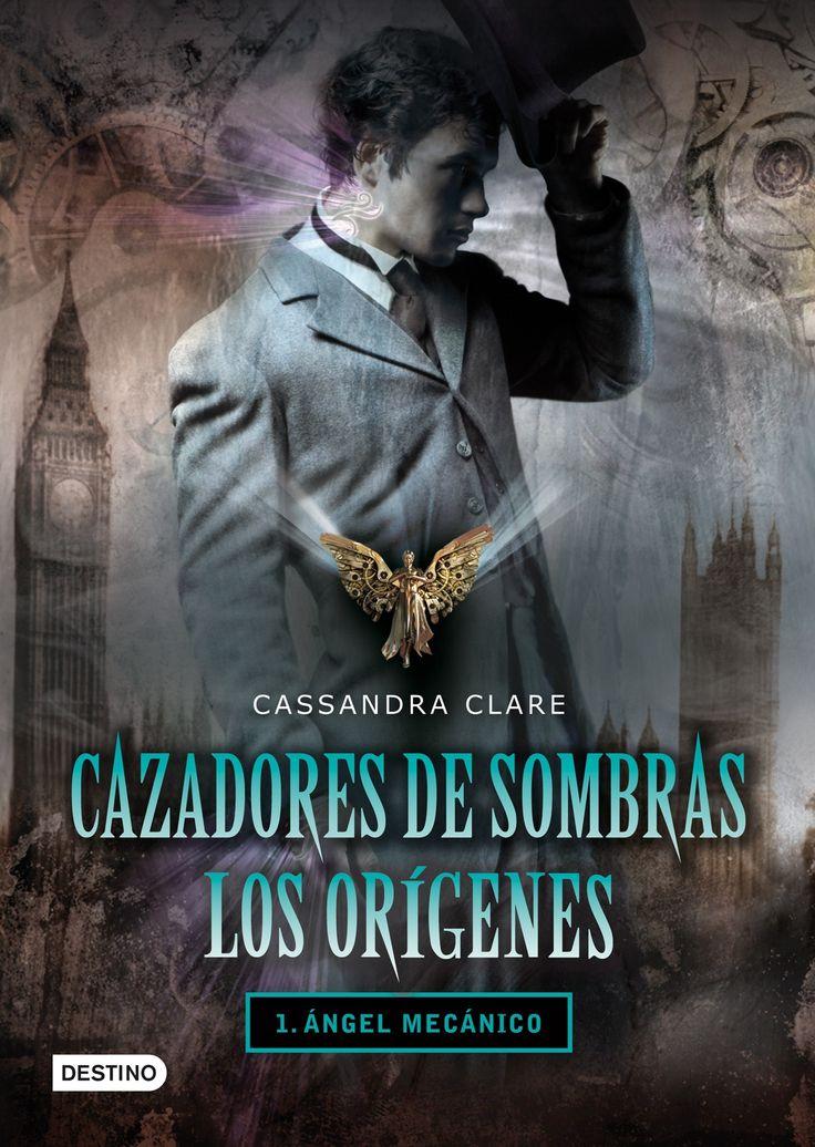 """Ficha de lectura de """"Cazadores de sombras 1. Los orígenes. ángel mecánico"""" de Cassandra Clare, elaborada por Laura González."""