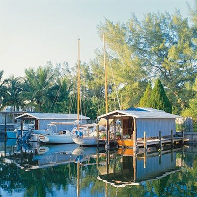 Boca Grande, Gasparilla Island. This easy-going, but upscale island boasts stylish shops and boutiques, as well as to-die-for seafood restaurants.