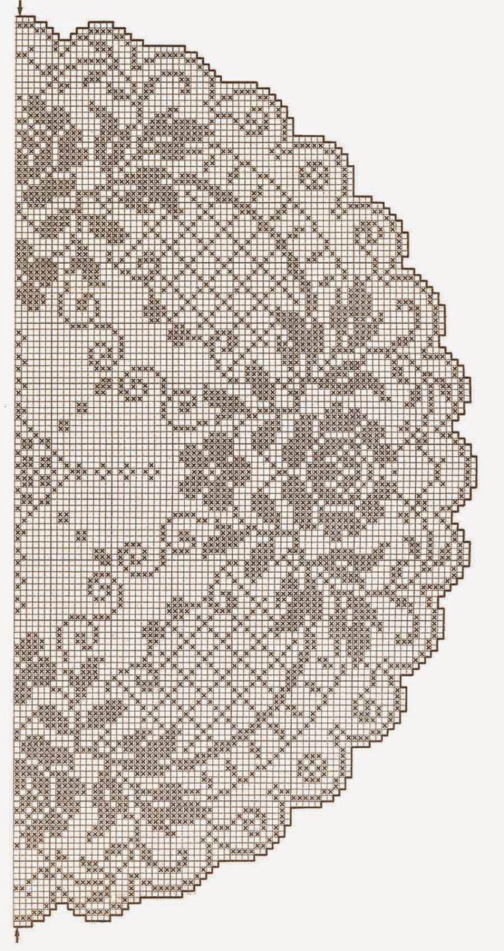 centrino grande da tavolo | Hobby lavori femminili - ricamo - uncinetto - maglia