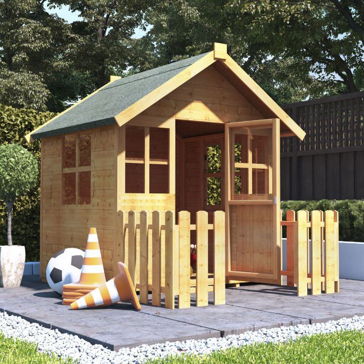 Buy a BillyOh Bunny Max Playhouse from Garden Buildings Direct