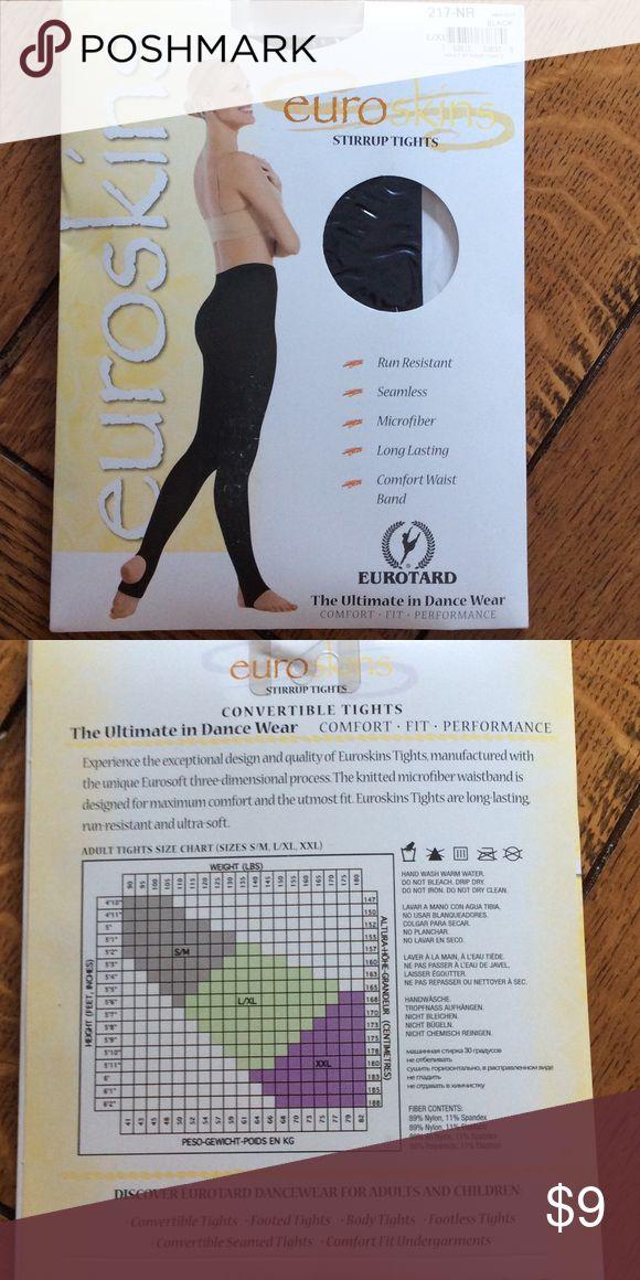 dd70200bae8bf Eurotard run resistant tights Women's run resistant stirrup tights from Eurotard  Eurotard Intimates & Sleepwear | My Posh Closet | Tights, Running women, ...