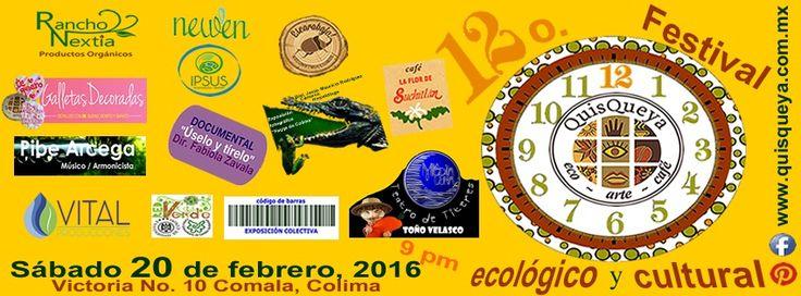 ¡Esta noche muy bienvenidos serán al 12o. Festival ecológico y cultural QuisQueya!