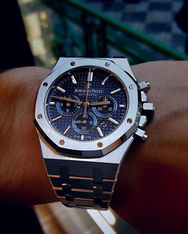 Audemars Piguet Royal Oak Chronograph Watch In 2019 Piguet Watch