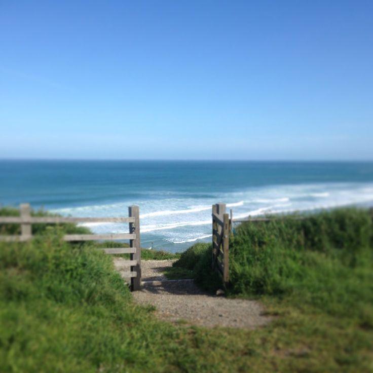 Surf through the gates #cornwall