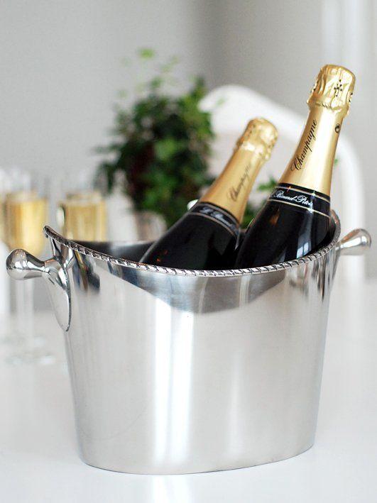 Champagne- eller vinkylare. Wine- champagne cooler. www.longcoastliving.se