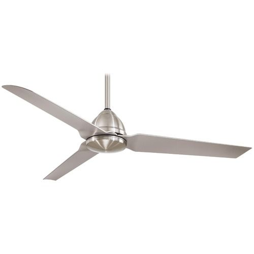 Industry ceiling fan from the modern fan company available with 42 or 52 blade spans suitable for damp location galvanized rust or poli