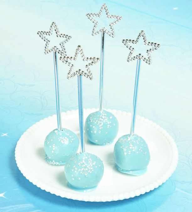 Cinderella Magic Wand Cake Pops