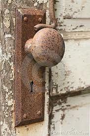 rusty vintage doornobs - Google Search