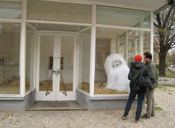 Yeti sighting! at Pictoplasma Festival, Berlin 2011