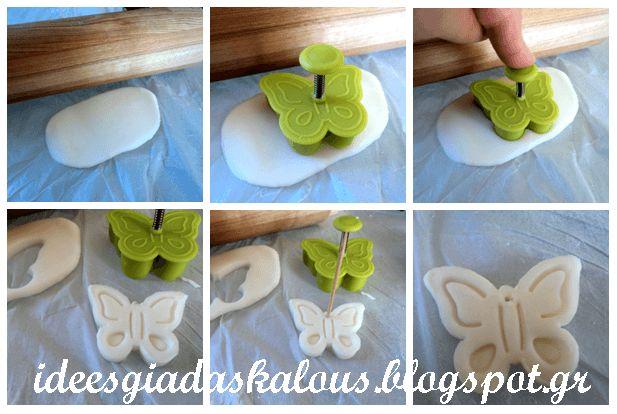 Ιδέες για δασκάλους: Πασχαλινά στολιδάκια από ζύμη κορν-φλάουρ