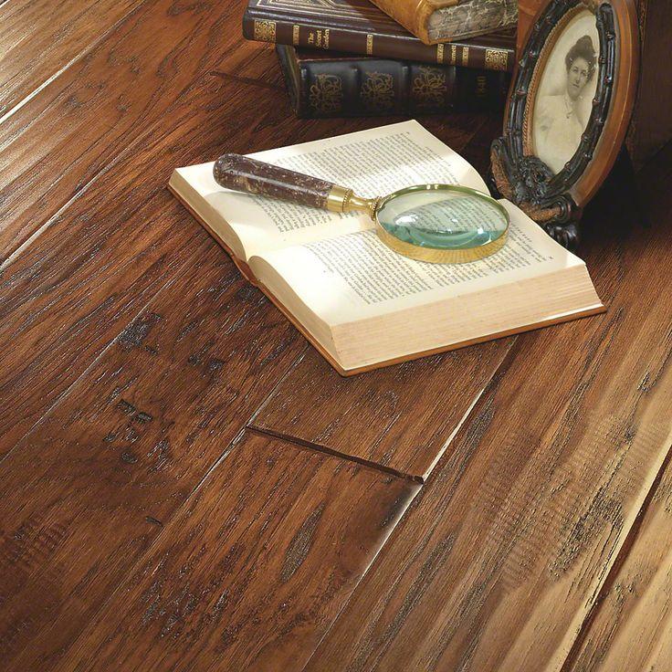 5 Engineered Hickory Hardwood Flooring In Harvest