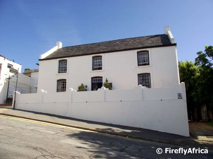 No 7 Castle Hill one of the oldest Settler Cottages in Port Elizabeth, Eastern Cape  - a typical form of architecture in the mid 19th C. You can see its architectural origins in homes in Cornwall UK and in Wales.  Port Elizabeth Daily Photo