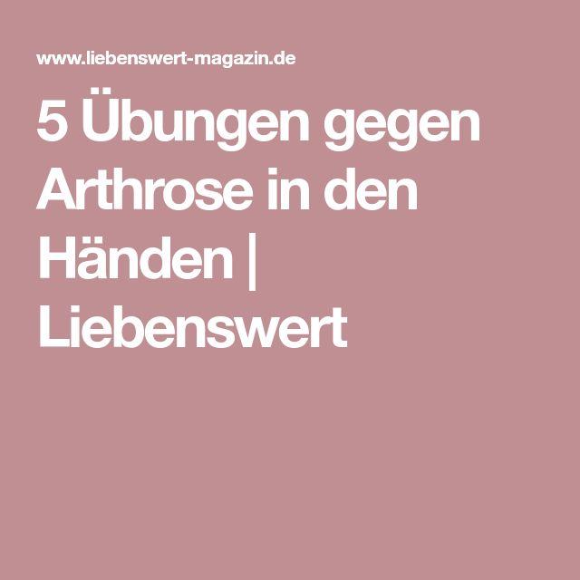 5 Übungen gegen Arthrose in den Händen | Liebenswert