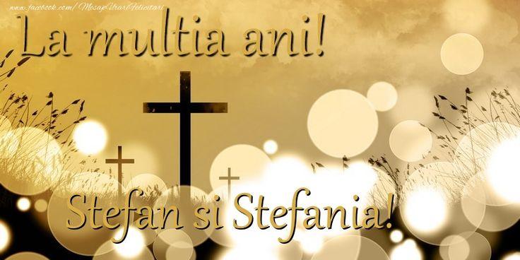 Stefan si Stefania!