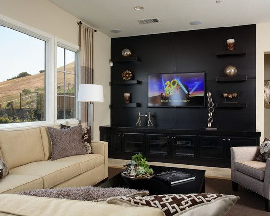 Media Room Design, Pictures, Remodel, Decor And Ideas   Page 28 | Home  Theatre (Ideas) | Pinterest | Media Room Design, Room And Entertainment Wall Amazing Ideas