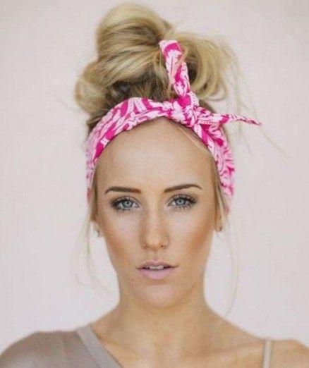 How To Put on A Bandana Biker Fashion Straightforward Hairstyles 63 Concepts