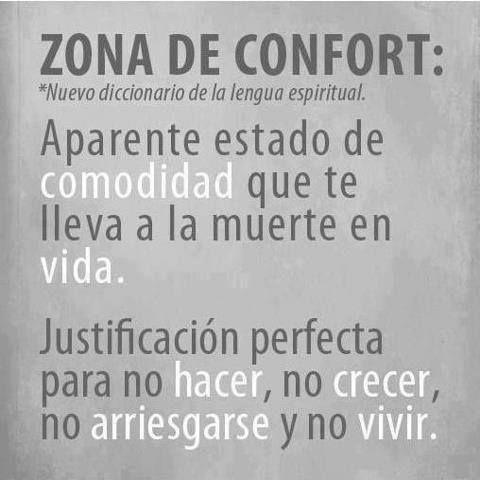 ¿Qué es la zona de confort? Despedimos el día con un poco de motivación! https://www.facebook.com/Emprendedor.Success