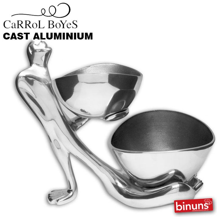 CARROL BOYES CAST ALUMINIUM  The CaRRoL BoYeS Cast Aluminium range is an exquisite collection, providing a beautiful alternative to pewter and stainless steel in the design of larger items. This light, strong and durable metal is perfect for larger bowls, lamps, sculptural vases and furniture. Should the itm you're looking for not appear below, contact our Helpdesk on 0861 772 665 and we'll list it for you.  http://www.binuns.co.za/Brands/CarrolBoyes/CastAluminium.aspx
