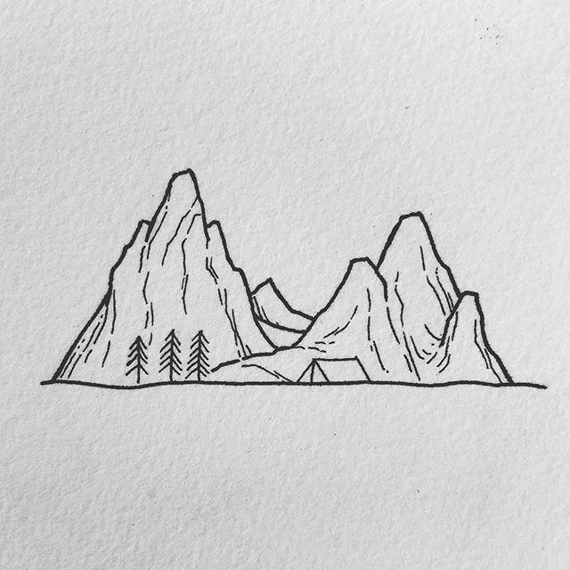 Little Mountain Doodle Will Do Some More Of These To Much Fun