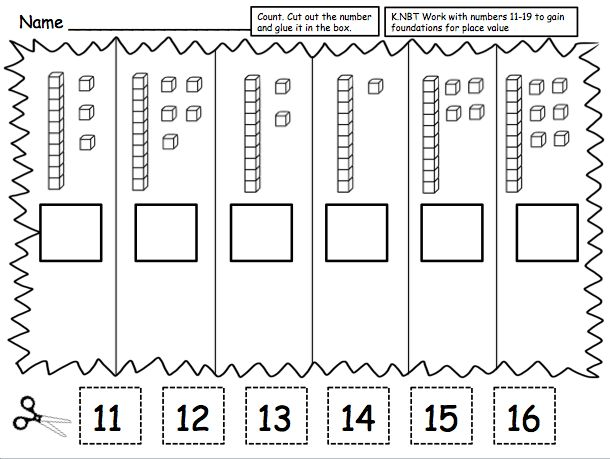 74 best Kindergarten Place value activities images on