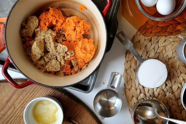 Dad's Perfect Sweet Potato Pie by joy the baker, via Flickr