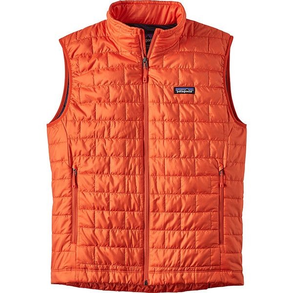 Patagonia Mens Nano Puff Vest - S - Paintbrush Red - Men's Outerwear (6.035 RUB) ❤ liked on Polyvore featuring men's fashion, men's clothing, men's outerwear, men's vests, red, mens vest, mens thermal vests, mens puffer vest, mens red puffer vest and mens puffy vest