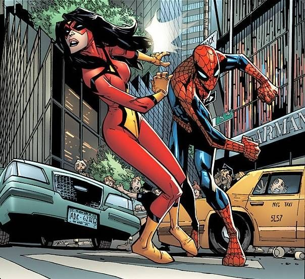 Spider-Woman vs Spider-Man | Spider-Man vs ...