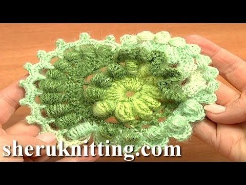 Free Patterns of Freeform Scrumbles Crochet Tutorial 3 Part 2 of 2 Freeform Designs - YouTube