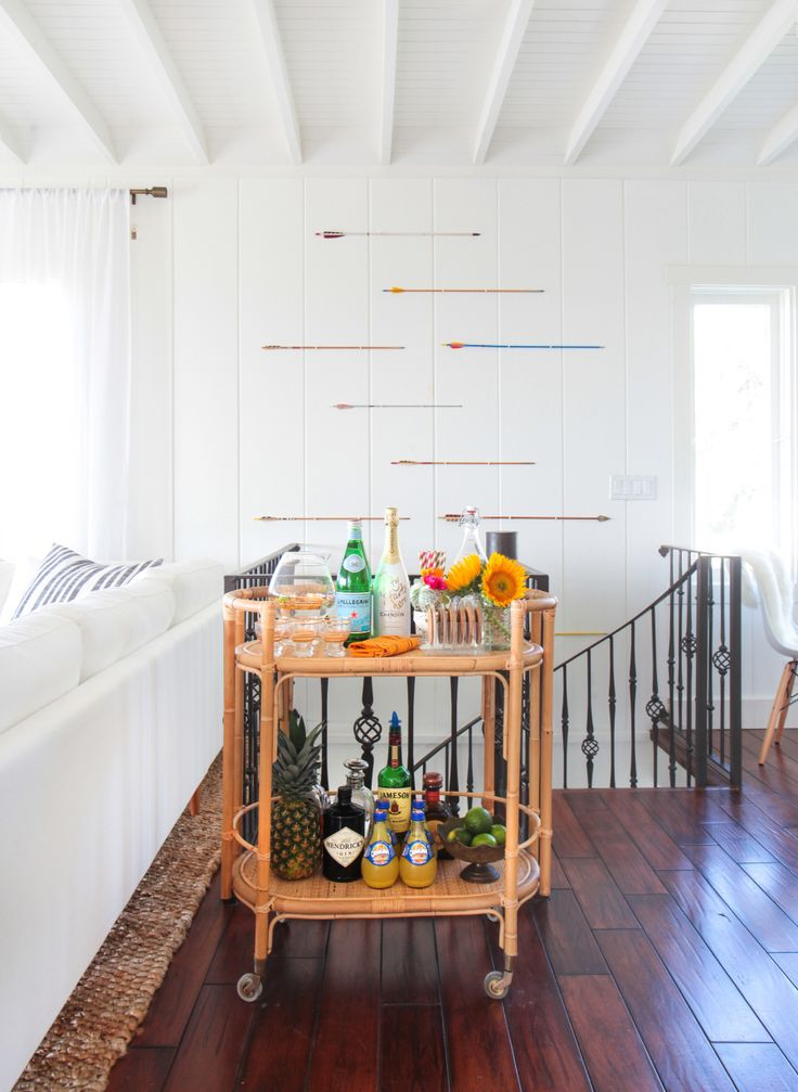 bright beachy laguna beach bungalow tour