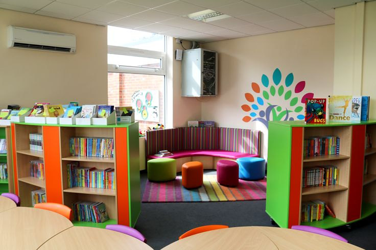 A School Library created by Incube Ltd for East Park Academy