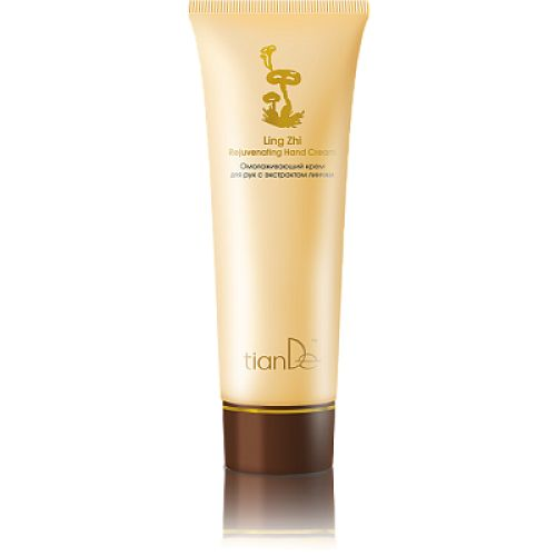 Rejuvenating Hand Cream with Extract of Ling Zhi, 80ml