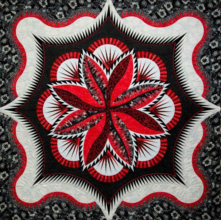 Fire Island Hosta Queen, Quiltworx.com, made by Certified Instructor, Tammy Doane