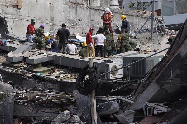Abiertas 189 carpetas de investigación por sismo en la CDMX
