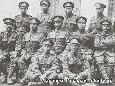 Japanese Canadian volunteers