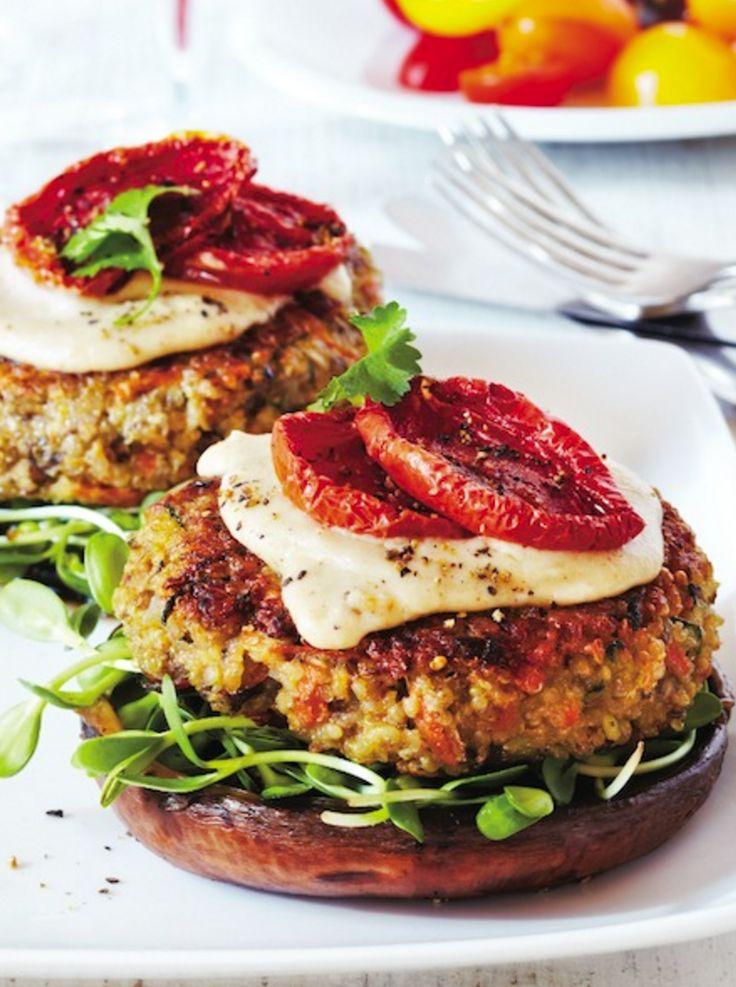 The best quinoa veggie burgers recipe.                                                                                                                                                                                 More