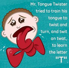 21 best images about tongue twisters on pinterest