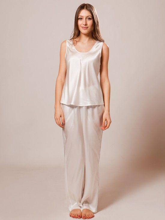 100% pure silk pajamas make dreams that much sweeter.