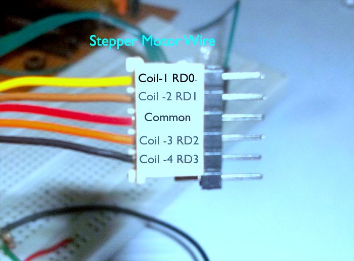 stepper motor wiring color code 17 best images about usb stepper motor driver on pinterest ... stepper motor wiring diagram 6 pin plug