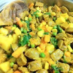 Curried Sausages @ allrecipes.com.au